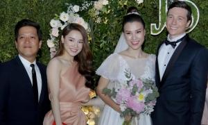 Trường Giang - Nhã Phương dự cưới Hoàng Oanh