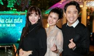 Dàn sao đến mừng Kim Thư mở nhà hàng