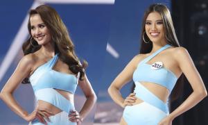 Thí sinh Hoa hậu Hoàn vũ VN diễn bikini