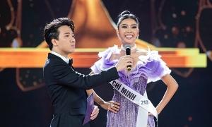 Thúy Vân gây tiếc nuối khi trượt ngôi Hoa hậu Hoàn vũ Việt Nam