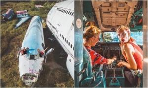 Sống ảo ở 'nghĩa trang máy bay' ngay Bangkok