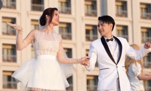 Váy cưới của Đông Nhi trong MV 'Yêu là cưới'