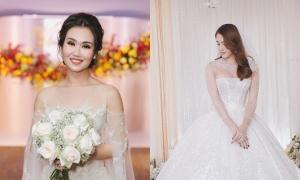 Váy cưới hàng trăm triệu đồng của người nổi tiếng năm 2019