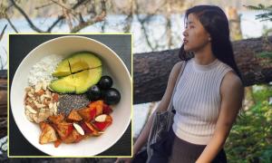 Eat Clean giúp 9X Hà Nội da sạch mụn, hết rụng tóc