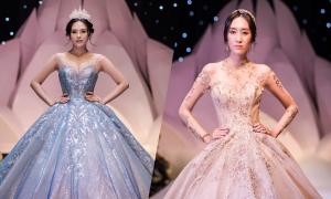 Váy cưới phong cách hoàng gia cổ điển