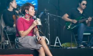 Hà Trần về nước hát cùng Hà Hồ