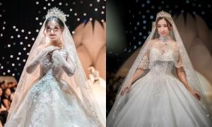 Đỗ Mỹ Linh, Huyền My đọ sắc khi diện váy cưới