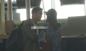 Thái Trác Nghiên tới Maldives xem địa điểm cưới