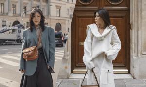 Những kiểu áo ấm cho phái đẹp văn phòng