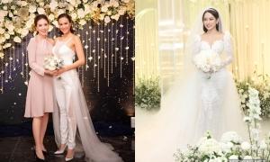 Xu hướng lễ phục cưới được sao Việt lăng xê năm 2019