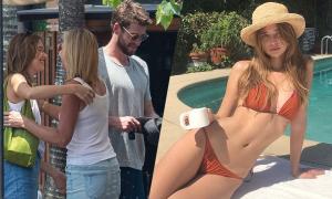 Nhan sắc bạn gái tin đồn của Liam Hemsworth