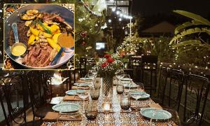 Địa chỉ cuối tuần: 3 nhà hàng đồ Âu ấm cúng đêm Noel
