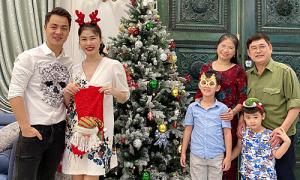 Thủy Anh: 'Quà Noel lớn nhất là đón ông bà vào chơi'