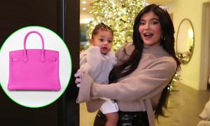 Con gái Kylie Jenner muốn quà Noel là túi Hermes Birkin