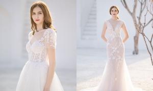 Váy cưới lấy cảm hứng từ những đóa hoa xuân