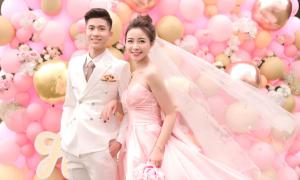 Ảnh cưới phong cách Hàn Quốc của vợ chồng Phan Văn Đức