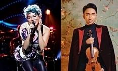 Hà Trần biểu diễn tại violin concert của Hoàng Rob