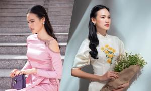 Lê Thanh Hòa gợi ý chọn áo dài xuân