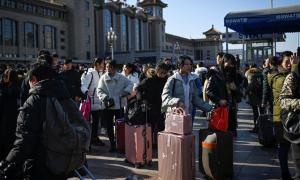 Mùa 'xuân vận' bắt đầu ở Trung Quốc