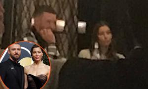 Justin Timberlake đi ăn tối với vợ