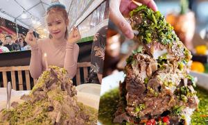'Bánh sinh nhật' bằng sườn cay Thái Lan của Khởi My