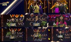 Những khoảnh khắc ấn tượng tại gala 'Ngôi sao của năm 2019'