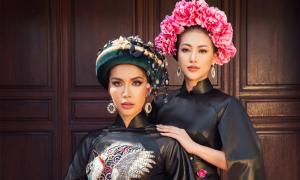 Phương Khánh, Minh Tú làm 'nàng thơ' của Võ Việt Chung
