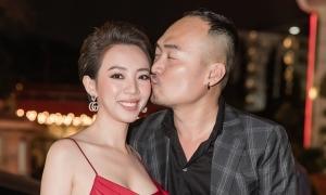 Tiến Luật hôn Thu Trang