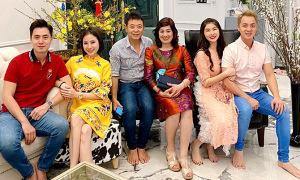 Gia đình Đăng Khôi sum vầy tại biệt thự 2 triệu USD