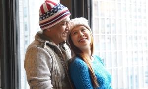 Vợ chồng Thanh Thúy ăn Tết ở Mỹ