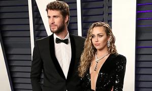 Miley và Liam không nhận một xu của nhau khi ly hôn