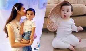Con trai của hoa hậu Phạm Hương