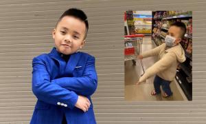 Cậu bé nhảy ngẫu hứng khi nghỉ học 1 tuần