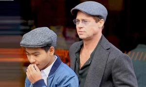 Brad Pitt hủy dự trao giải để đi hàn gắn với con trai