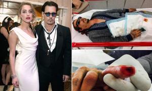 Amber Heard mỉa mai khi Johnny Depp nói cô bạo hành