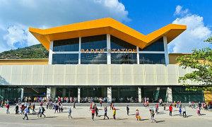 Kiến trúc của ba nhà ga cáp treo mới tại núi Bà Đen