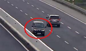 Đi ngược chiều trên cao tốc bị phạt 17 triệu đồng