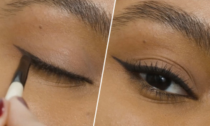 Cách vẽ eyeliner hợp trang điểm hàng ngày