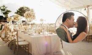 Đám cưới giữa hoàng hôn tại Bali