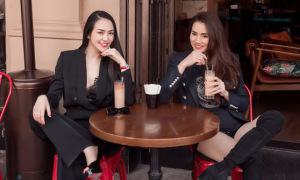 Trang Nhung đi chơi với vợ Tuấn Hưng