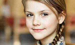 Công chúa 8 tuổi của Thụy Điển