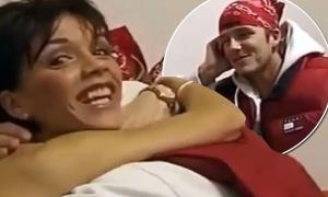 Vic tung video ngày mới yêu Becks