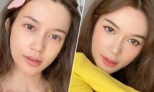 Sĩ Thanh makeup 'sương sương' kiểu Hàn