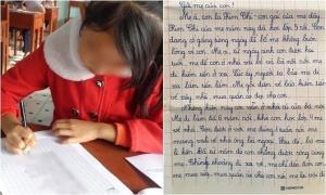 Thư gửi mẹ gây xúc động của học sinh lớp 5