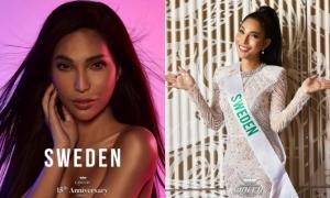Hoa hậu Chuyển giới Thuỵ Điển gốc Việt bị công kích