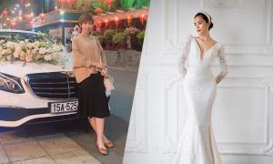 Tư vấn váy cưới cô dâu gầy, tóc tém