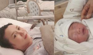 Sao Hàn sinh con đầu lòng sau 3 lần sảy