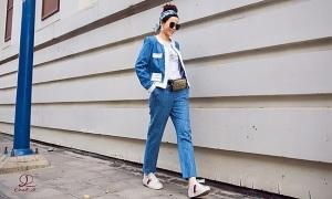 Hoa hậu Oanh Lê đón đầu xu hướng thời trang xuân hè