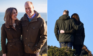 Fan thích thú với ảnh lãng mạn của nhà William
