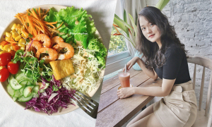 Bữa ăn Eat Clean giúp 9X hết mụn, giảm 25 kg